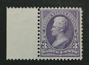 MOMEN: US #253 MINT OG **NH** POST OFFICE FRESH #30457