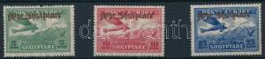 Albania stamp Airplane set 4 values Hinged 1929 Mi 210-212 WS236023