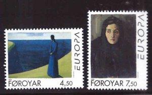 FAROE ISLANDS Scott 302-303 MNH** 1996 Europa set CV $3.50