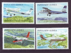 J21872 Jlstamp 1987 png set mnh #687-90 airplanes