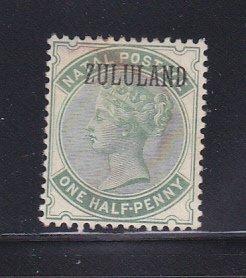 Zululand 12 MH Overprint