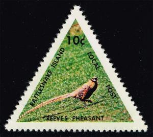 Rattlesnake Island Local Post Stamp