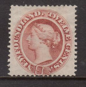 Newfoundland #28a VF Mint **With Certificate**