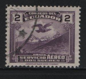 ECUADOR, C56, USED, 1937-46, AIR POST STAMPS