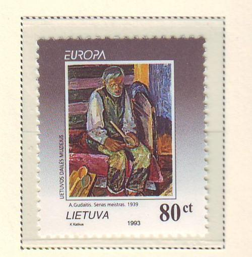 Lithuania Sc 472 1993 Europa stamp mint NH