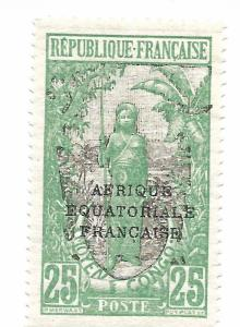 MIDDLE CONGO SCOTT 33 IN MNH CONDITION