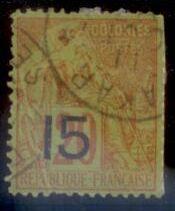 Senegal 1887 SC# 24 Used CH