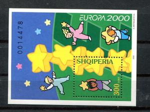 Albania    Europa 2000 sheet VF NH
