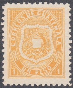 GUATEMALA   An old forgery of a classic stamp...............................C926