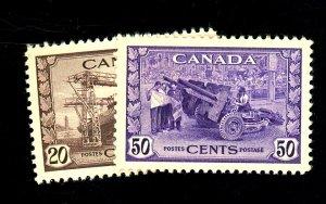 Canada #260-1 MINT VF OG NH Cat $59