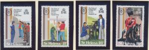 St. Helena Stamp Set Scott #360-3, Mint Never Hinged MNH - Free U.S. Shipping...