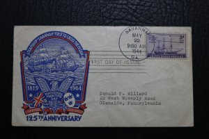 FDC National Maritime Day 125th Anniversary