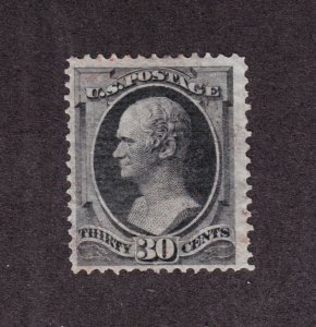 US 154 30c Hamilton Used F-VF w/ Light Cancel SCV $300