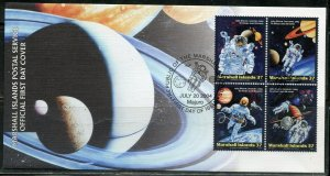 MARSHALL ISLANDS 2004 SPACE WALK SET FIRST DAY COVER