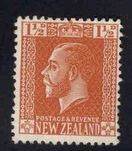New Zealand Scott 162 MH* KGV stamp 1916