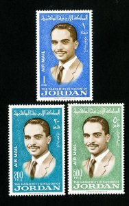 Jordan Stamps # C43-5 XF OG LH