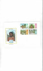 Samoa FDC 1979 International Year of the Child Official Cachet