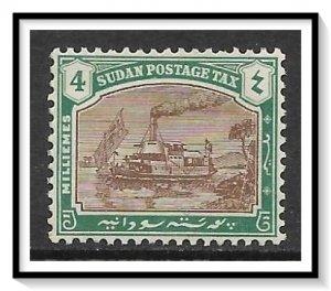Sudan #J8 Postage Due MH