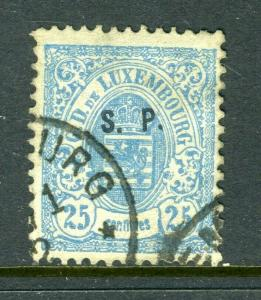Luxemburg #o60 Fantastic and clean -nice (USED)  cv$92.50