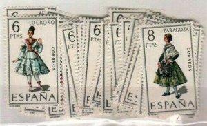 Spain Scott 1392-1444 Mint NH