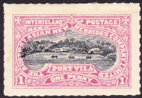 New Hebrides interisland mail