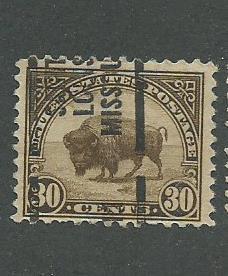 1931 USA Saint Louis, Missouri  Precancel on Scott Catalog Number 700