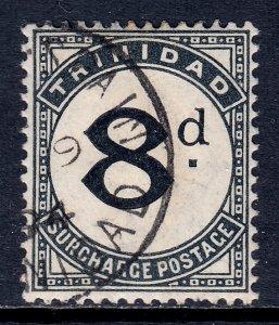 Trinidad - Scott #J8 - Used - SCV $4.00