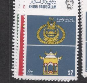 Brunei SG 395-7 Great Stamps Not Great Picture MNH (4dfi)