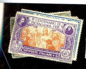 ITALY #143-6 MINT FVF OG HRS Cat $23