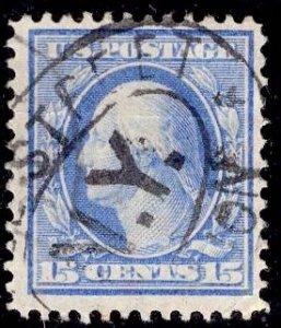 US Stamp #340 15 Cents Washington USED SCV $6.00