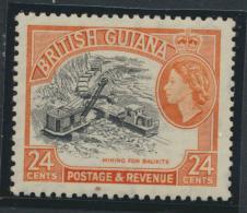 British Guiana SG 339 Mint Light Hinge  (Sc# 261 see details)
