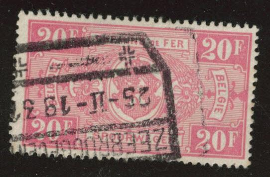 Belgium Parcel Post Scott Q169 Used 1923