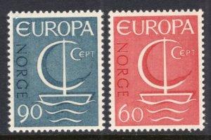 Norway 496-497 Europa MNH VF