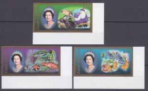 2007 Cook Islands 1603-1605b Fauna / Elizabeth 100,00 €