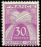 France - J70 - MNH - (Penciled Back) - SCV-0.25