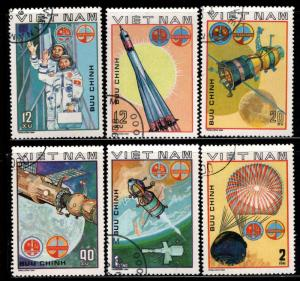 Unified Viet Nam Scott 1063-1068 Used Space set
