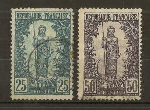 Fr Congo 1900 Bakalois Woman (2v)