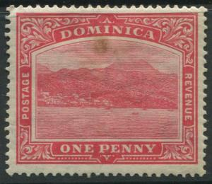 Dominica -Scott 57 - KGV Definitive Issue -1921 -Mint - Single 1p Stamp
