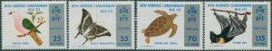New Hebrides MNH 184-7 Wildlife 1974