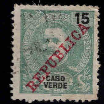 Cabo or Cape Verde Scott 88 Used King Carlos stamp
