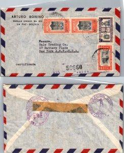 Bolivia, Registered