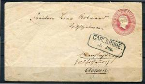 Germany Bavaria Cover 1866