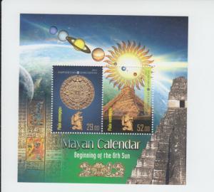 2012 Kyrgyzstan Mayan Calendar SS (Scott 426) MNH