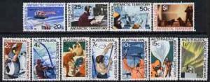 Australian Antarctic Territory 1966 definitive set 1c to ...