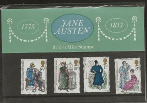 1975 JANE AUSTEN 1775-1817  PRESENTATION PACK 75