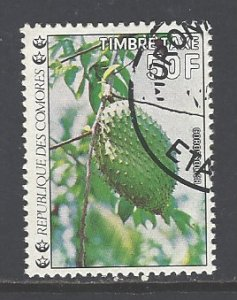 Comoro Islands Sc # J14 used (DT)