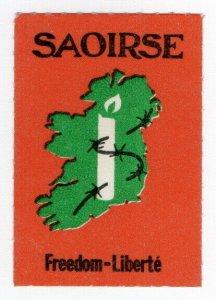 (I.B) Ireland Political : Free Ireland Label (Freedom)
