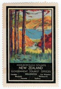 (I.B) New Zealand Cinderella : Government Tourist Office (Marlborough Sounds)