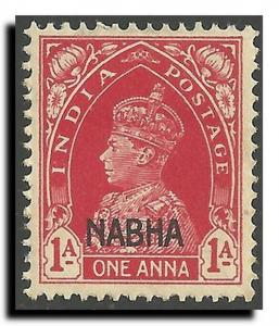 India-Convention States-Nabha Scott 90