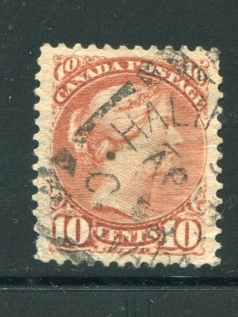 Canada #45  Used  Halifax squared circle  VF